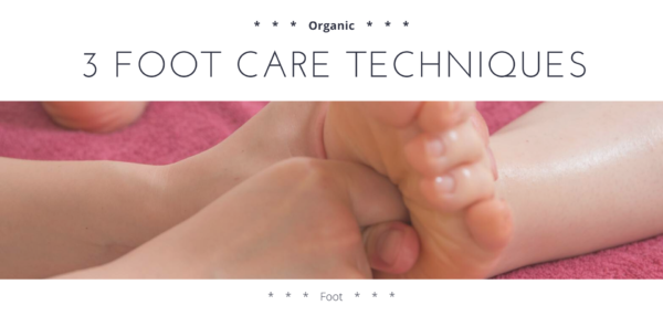 3 foot care techniques